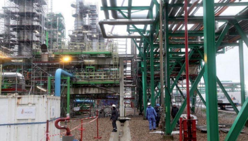 La plateforme raffinage-chimie d'Anvers